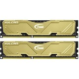DDR3 2x4GB 1600MHz Team Vulcan Yellow (TLYED38G1600HC9DC01)