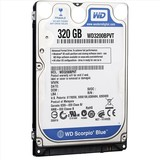 "Жесткий диск HDD 2.5"" SATA  320Gb WD Scorpio Blue, 8Mb, 5400rpm (WD3200BPVT)"