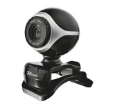 Веб-камера Trust Exis webcam Black-Silver (17003)
