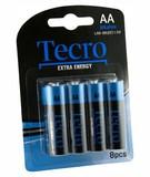 Батарейка Tecro Extra Energy Alkaline AA BLI 8 (LR6-8B(EE))