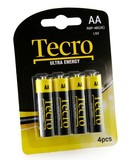 Батарейка Tecro Ultra Energy AA BLI 4 ZN-CA (R6P-4B(UE))