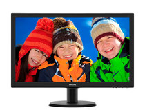 "Монитор Philips 23.6"" 243V5LSB/62 Black"