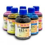 Комплект чернил WWM EPSON Stylus Photo P50/R270/290/RX615/T50/TX650 B/C/M/Y/LC/LM (E83SET-2) 6*100г