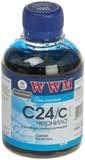 Чернила WWM CANON BCI-24 Cyan  (C24/C)