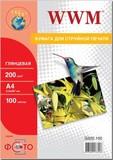 Фотобумага WWM (G200.100)