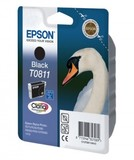 Картридж EPSON (T0811) Stylus Photo R270/390/RX590 (C13T11114A10) Black, 11мл