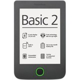 Электронная книга PocketBook Basic 2 (614) Grey (PB614-Y-CIS) + чехол