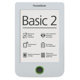 Электронная книга PocketBook Basic 2 (614) White (PB614-D-CIS) + чехол