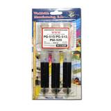 Заправочный набор  WWM CANON PG-510/PG-512 Black Pigmented (3x20mll) IR3.C10/BP