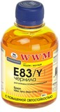 Чернила WWM EPSON Stylus Photo R270/P50/R290/RX615/T50/TX650 (Yellow) (E83/Y)