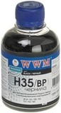 Чернила WWM HP 21/121/129/130/131/132/140 (Black Pigmented) (H35/BP)