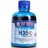 Чернила WWM HP 22/121/134/135/136/141 (Cyan) (H35/C)