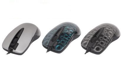 A4-tech glaser mouse x6-28d-red(2) (rtl) usbps/2 4btn+roll