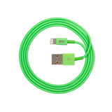 JUST Simple Lightning USB Cable Green (LGTNG-SMP10-GRN)