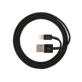JUST Simple Lightning USB Cable Black (LGTNG-SMP10-BLCK)