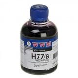 Чернила WWM HP C8719/С8721/С5016 (Black) (H77/B) 200г