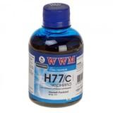 Чернила WWM HP C8719/С8721/С5016 (Cyan) (H77/C)