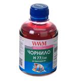 Чернила WWM HP C8719/С8721/С5016 (Light Magenta) (H77/LM) 200г