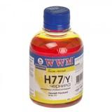 Чернила WWM HP C8719/С8721/С5016 (Yellow) (H77/Y)