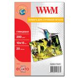 Фотобумага WWM (G200.F20)