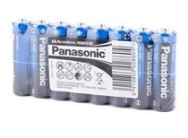 Батарейка Panasonic General Purpose R6 TRAY 8 Carbon-Zinc (R6BER/8P)