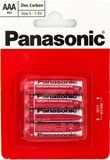 Батарейка Panasonic Red Zink AAA/LR03 BL 4 шт