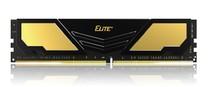 Оперативная память DDR4 16GB/2400 Team Elite Plus Gold/Black (TPD416G2400HC1601)