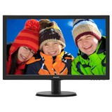 "Монитор Philips 23.6"" 243V5QHSBA/01 MVA Black"