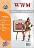 """Фотобумага WWM Fine Art глянцевая """"Кожа"""" (GL200.10)"""