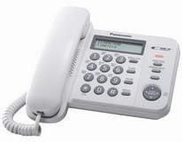 Проводной телефон Panasonic KX-TS2356UAW White