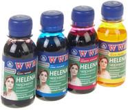 Комплект чернил WWM HP Universal Helena B/C/M/Y (HELENA/SET.4-2) 4*100
