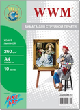 Холст WWM натуральный хлопковый Fine Art (CC260A4.10)