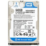 "Жесткий диск HDD 2.5"" SATA  640GB WD Blue 5400rpm 8MB (WD6400BPVT) гар. 12 мес."