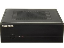Корпус CHIEFTEC Compact IX-01B,без БП,SLIM FF, desktop/tower mITX