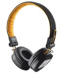 Гарнитура TRUST Urban Revolt Fyber Headphone Black/Orange (20079)