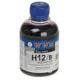 Чернила WWM HP 10/11/12 (Black) (H12/B)